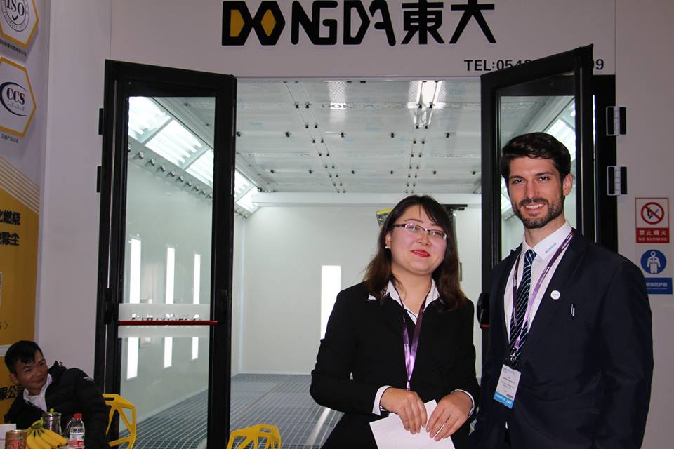 Shandong Dongda Spray-baking Lacquer Room Participates in the 2018 Shanghai Frankfurt Auto Parts Exh