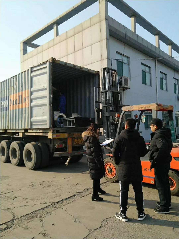 Dongda Auto Spray-baking Lacquer House Exports to EU